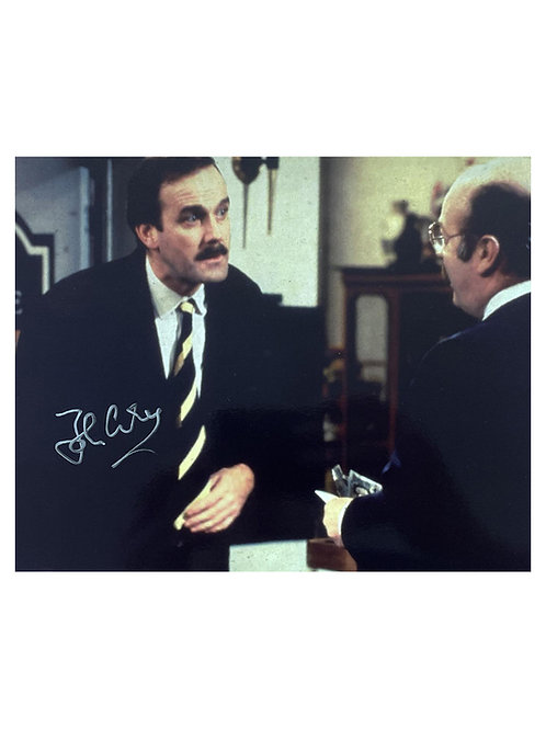 10x8 Fawlty Towers Print Signed by John Cleese
