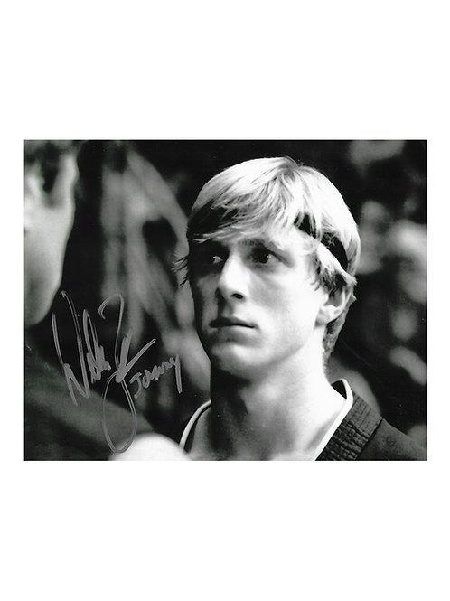 10x8 Karate Kid Print Signed by William Zabka