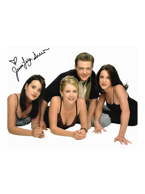 10x8 Sabrina the Teenage Witch Photo Signed by Jenna Leigh Green