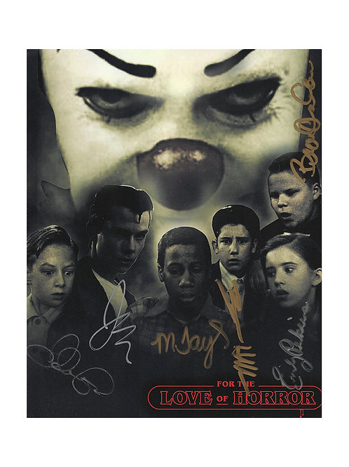 8x10 IT - The Mini-Series Losers Club Print Signed by All Cast