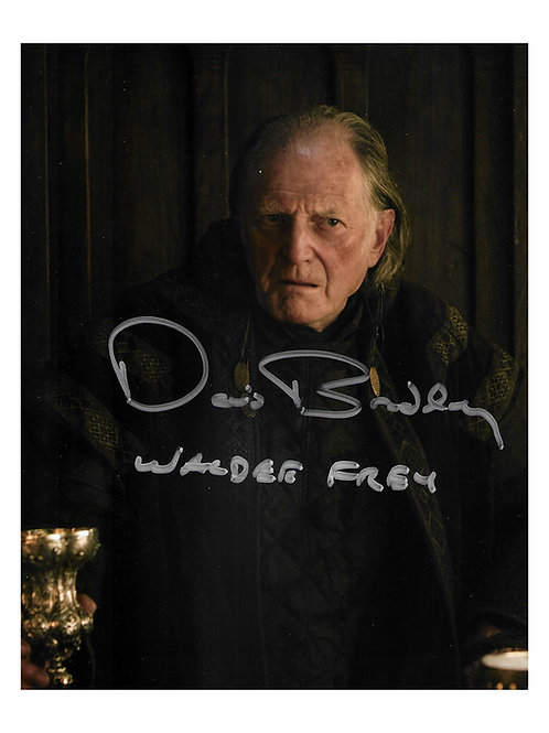 8x10 Game of Thrones Print Signed by David Bradley