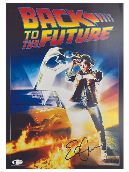 Back to the Future Poster Signed by Elisabeth Shue