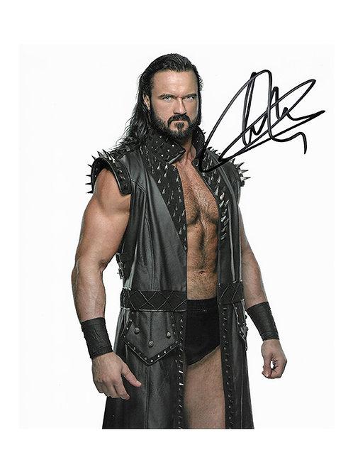 8x10 Print Signed by Wrestling Superstar Drew McIntyre