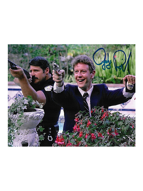 10x8 Beverly Hills Cop Print Signed by Judge Reinhold