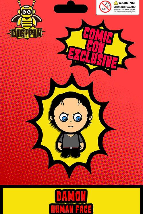 The Vampire Diaries/Originals Series Damon Human Face
