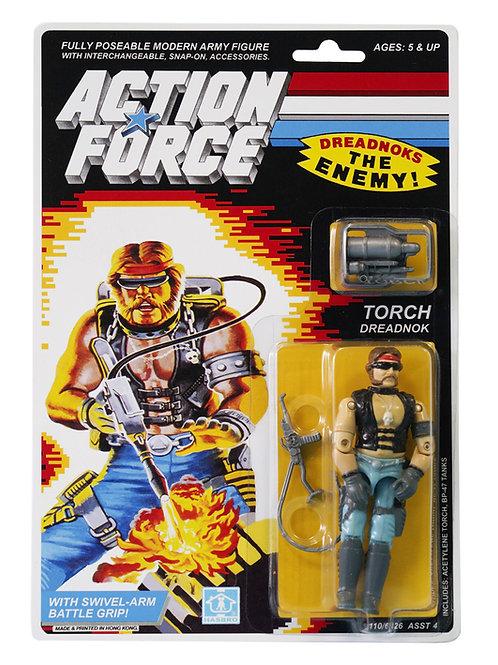 Action Force GI Joe Torch Dreadnok MOC Carded Custom