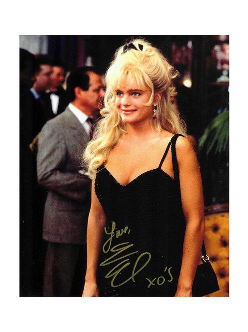 8x10 The Beverly Hillbillies Print Signed by Erika Eleniak