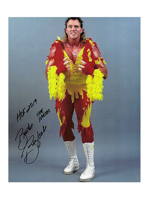 8x10 Print Signed by Wrestling Superstar Brutus Beefcake