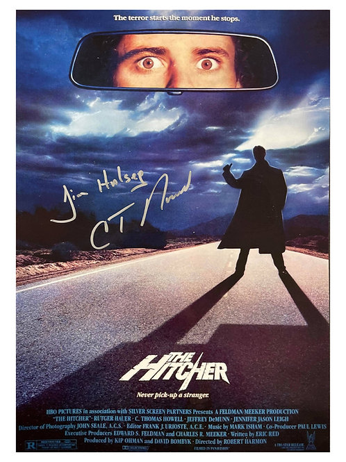 The Hitcher A3 Poster Signed by C. Thomas Howell