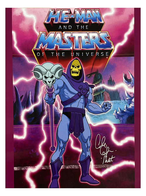 12x16 He-Man Skeletor Print Signed by Alan Oppenheimer