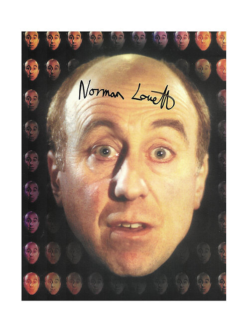 8x10 Red Dwarf Holly Print Signed by Norman Lovett