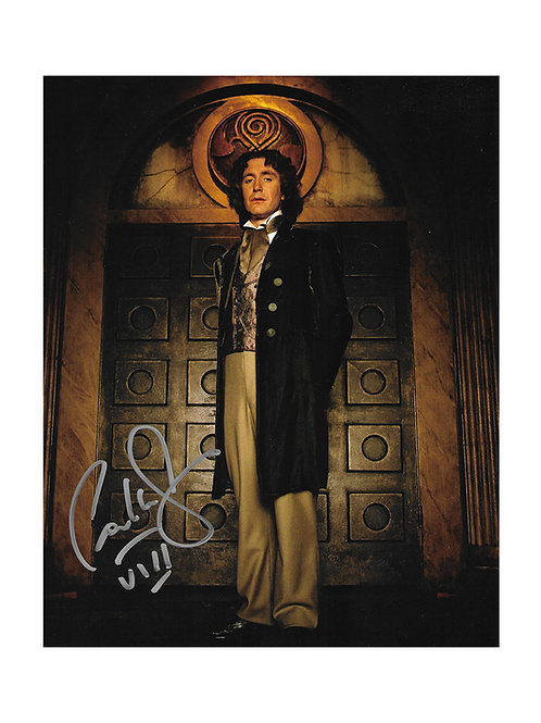 8x10 Doctor Who 8th Doctor Print Signed by Paul McGann