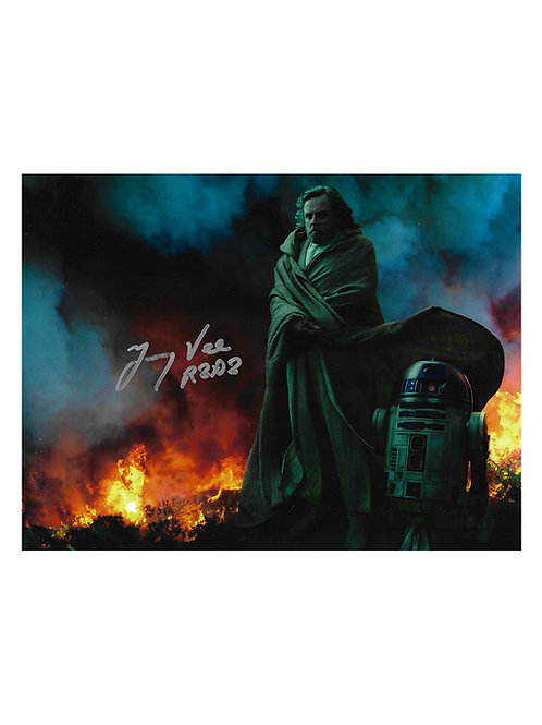 10x8 Star Wars Print Signed by Jimmy Vee