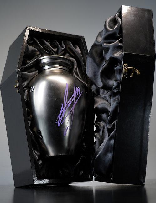 Thank You Taker Urn Signed by Wrestling Superstar The Undertaker