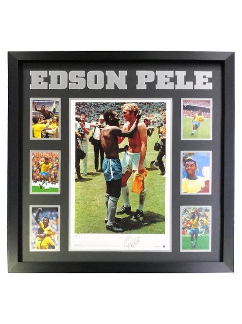 Framed Print Signed by Edson Pele