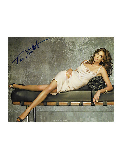10x8 Print Signed by Teri Hatcher