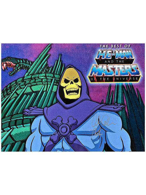 16x12 He-Man Skeletor Print Signed by Alan Oppenheimer