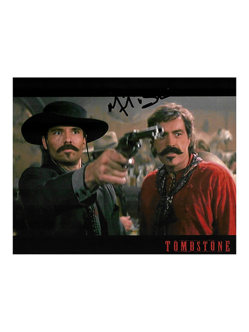 10x8 Tombstone Print Signed by Michael Biehn