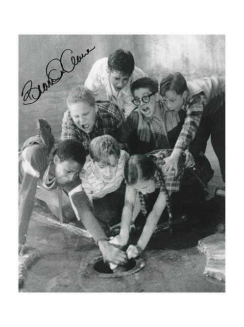 8x10 IT - The Mini-Series Print Signed by Brandon Crane
