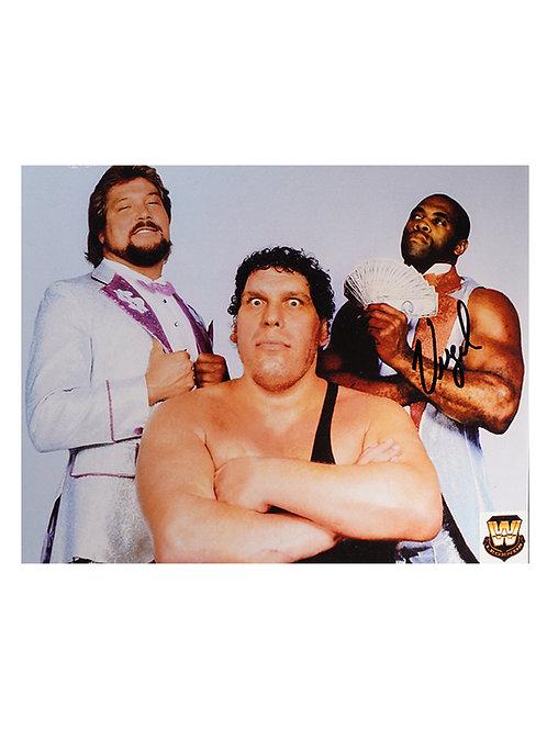 10x8 Print Signed by Wrestling Superstar Virgil
