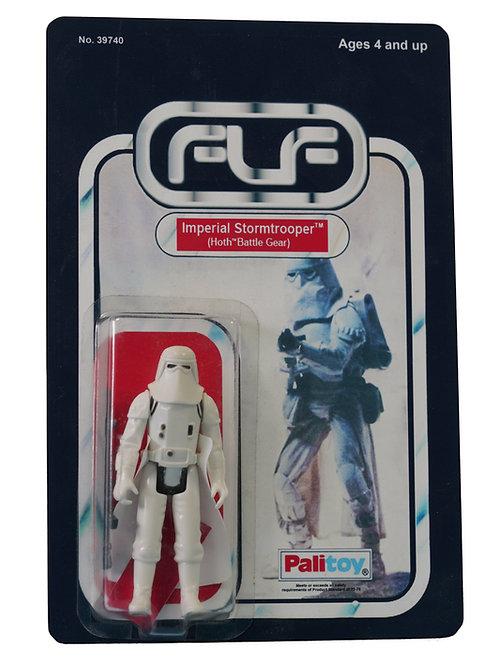 Vintage 1980 Star Wars Death Squad Commander Figure On Custom Made FTLOTF Card