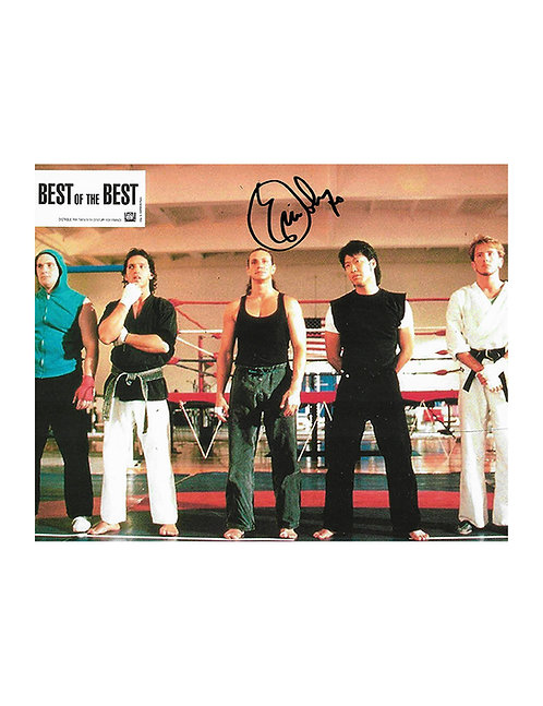 10x8 Best Of The Best Print Signed by Eric Roberts