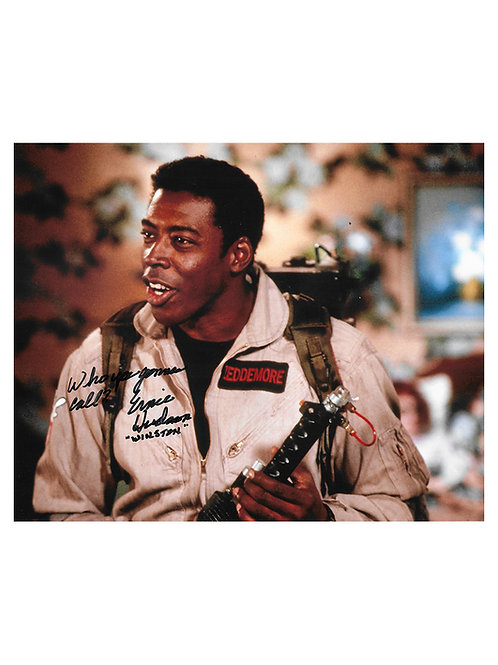 10x8 Ghostbusters Quoted Print Signed by Ernie Hudson