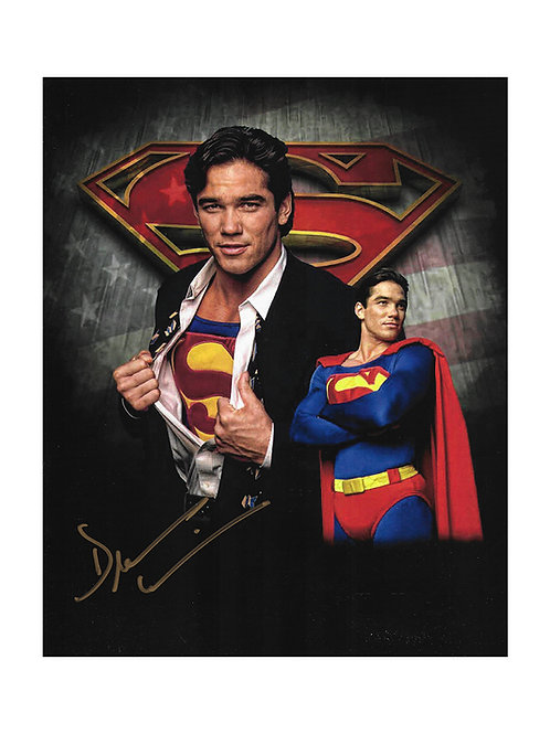 8x10 Superman Print Signed by Dean Cain
