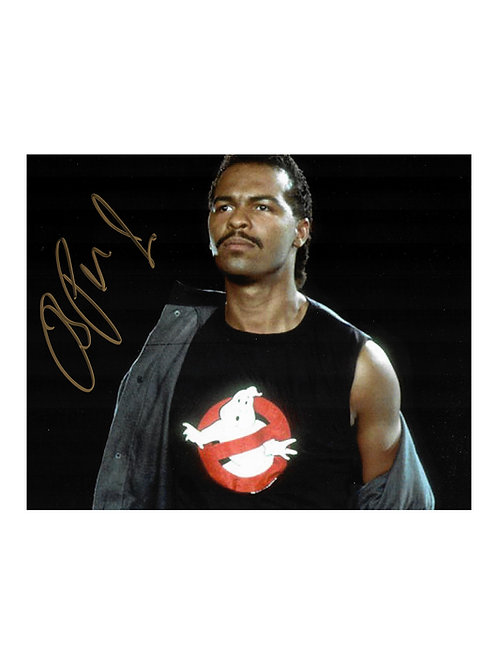 10x8 Ghostbusters Print Signed by Ray Parker Jr.