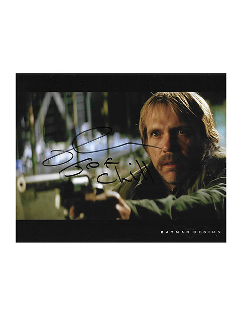 10x8 Batman Begins Print Signed by Richard Brake