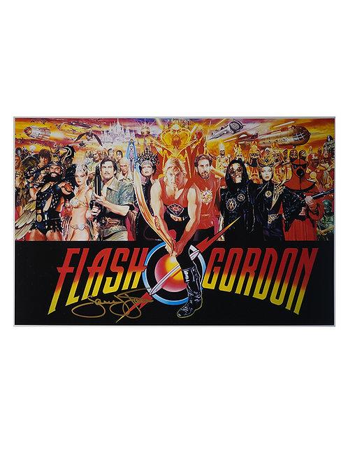 16x12 Flash Gordon Print Signed by Sam J Jones