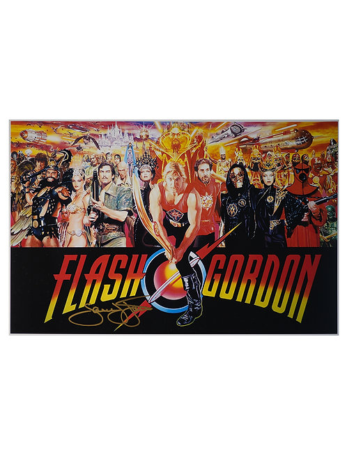 16x12 Flash Gordon Print Signed by Sam J Jones
