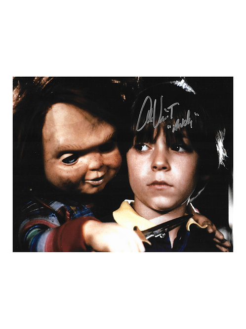 10x8 Child's Play Print Signed by Alex Vincent