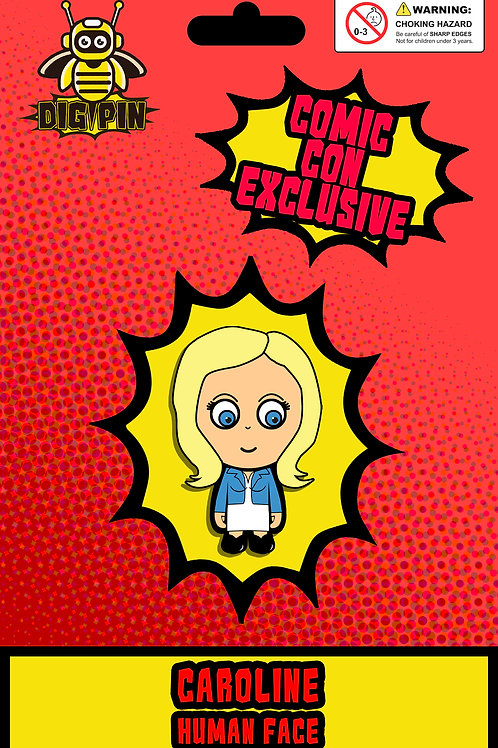 The Vampire Diaries/Originals Series Caroline Human Face
