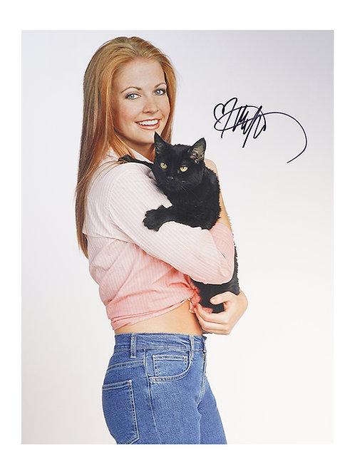 12x16 Sabrina Print Signed By Melissa Joan Hart