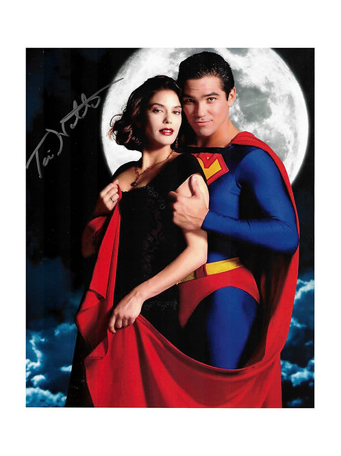 8x10 Superman Print Signed by Teri Hatcher
