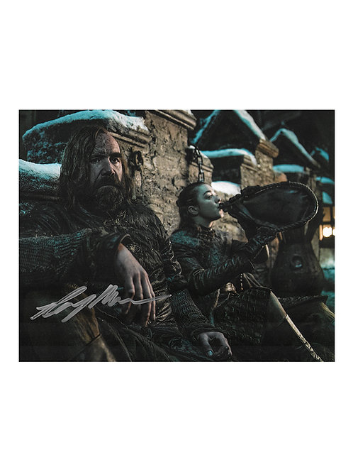 10x8 Game of Thrones Print Signed by Rory McCann