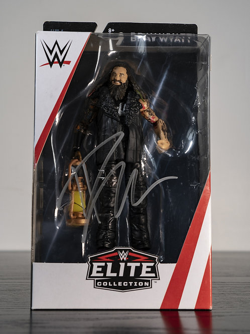 WWE Elite Collection Action Figure Signed by Wrestling Superstar Bray Wyatt