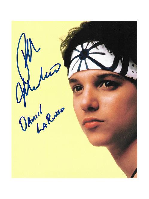 8x10 Karate Kid Print Signed by Ralph Macchio