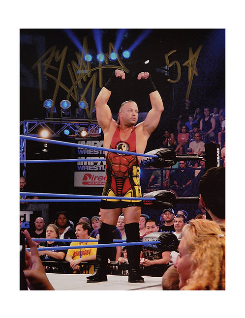 8x10 Print Signed by Wrestling Superstar Rob Van Dam