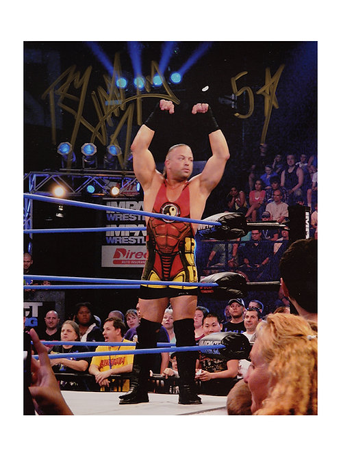 8x10 Print Signed by Wrestling Superstar Rob Van Dam
