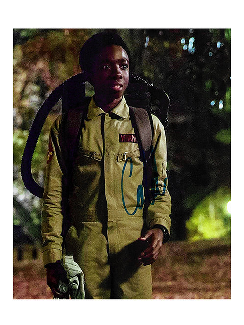 8x10 Stranger Things Print Signed by Caleb McLaughlin