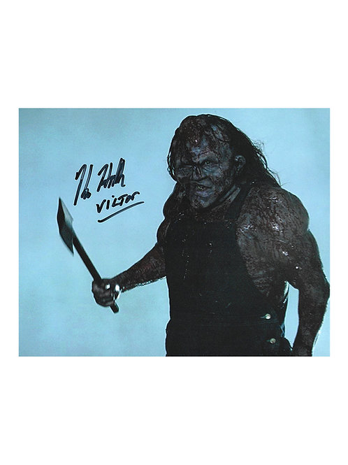 10x8 Victor Crowley Print Signed by Kane Hodder