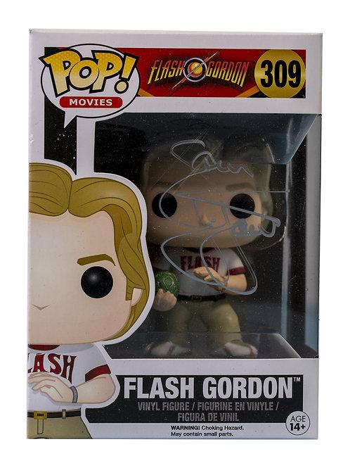 Flash Gordon Packaged Funko Pop Figure Signed By Sam J Jones