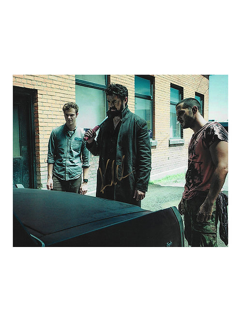 10x8 The Boys Print Signed by Karl Urban