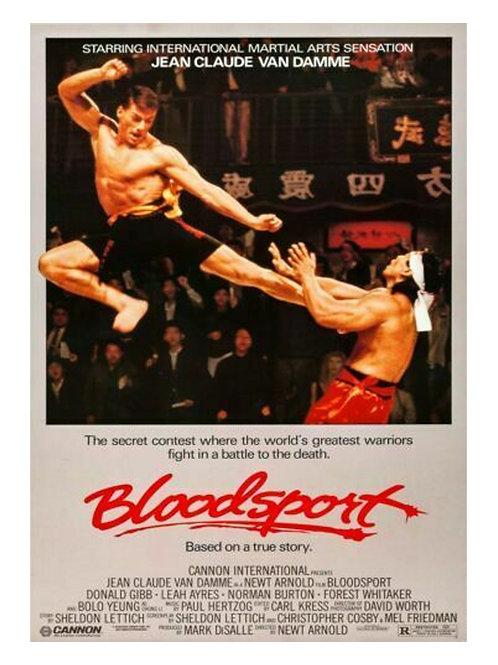 A3 Bloodsport Film Poster