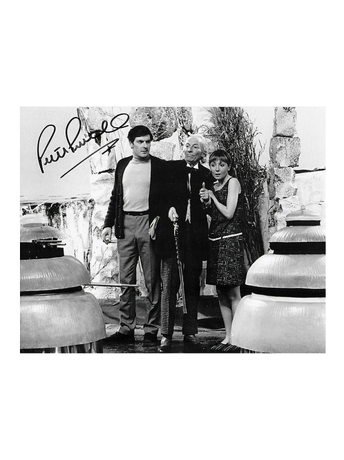 10x8 Doctor Who Print Signed by Peter Purves
