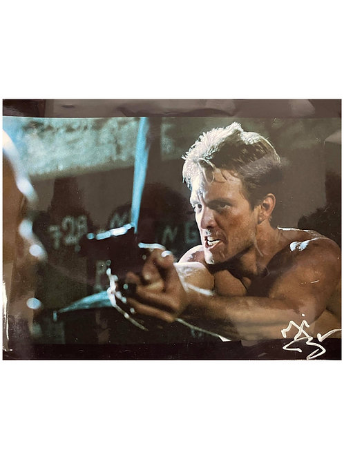 14x11 The Terminator Print Signed by Michael Biehn