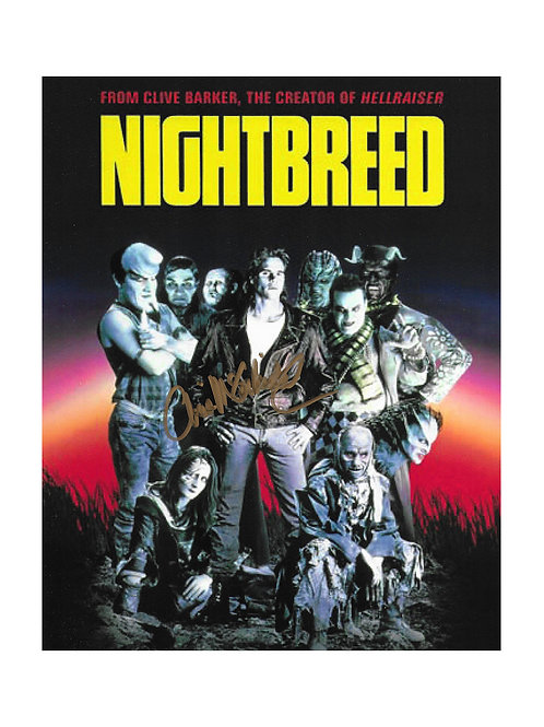 8x10 Nightbreed Print Signed by Chris McCorkindale