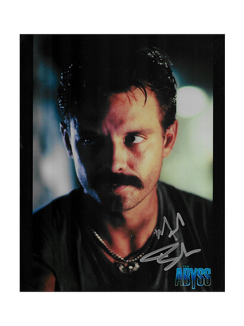 8x10 The Abyss Print Signed by Michael Biehn